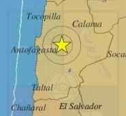 Sismo de leve intensidad sacude la Región de Antofagasta