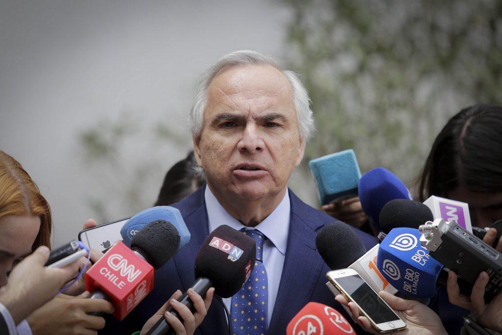 Ministro Chadwick declara como testigo en caso Catrillanca
