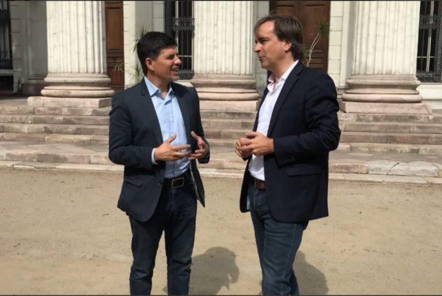 Díaz (PS) y Cruz-Coke (EVO) se unen al llamado del Presidente para reformar gobierno corporativo de TVN