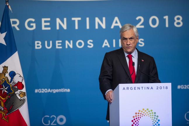 Presidente Piñera saca cuentas alegres tras participación en G20
