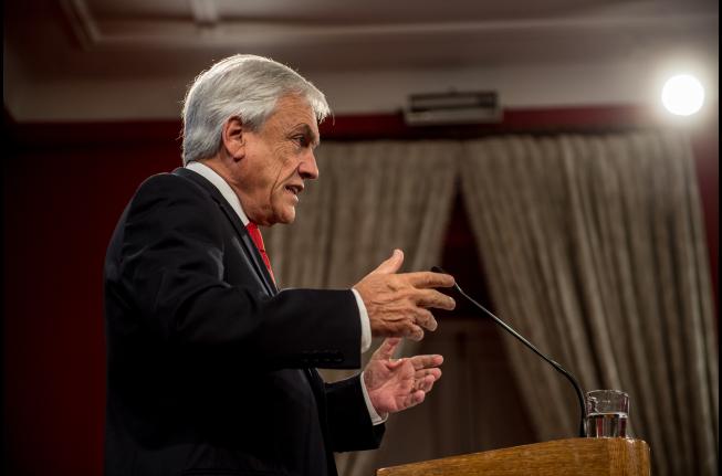 """Piñera encabeza comité político previo a su cuestionado viaje a Cúcuta para entregar """"ayuda humanitaria"""" a  Venezuela"""