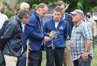 Granizadas llevan al gobierno a decretar zona de emergencia agrícola en 10 comunas