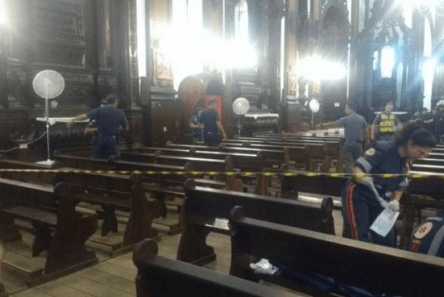 Un hombre asesinó a cuatro personas en una catedral de Sao Paulo