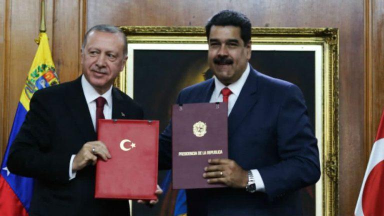 """Turquía se cuadra con Maduro: """"Nosotros vamos a cubrir la mayoría de las necesidades de Venezuela"""""""