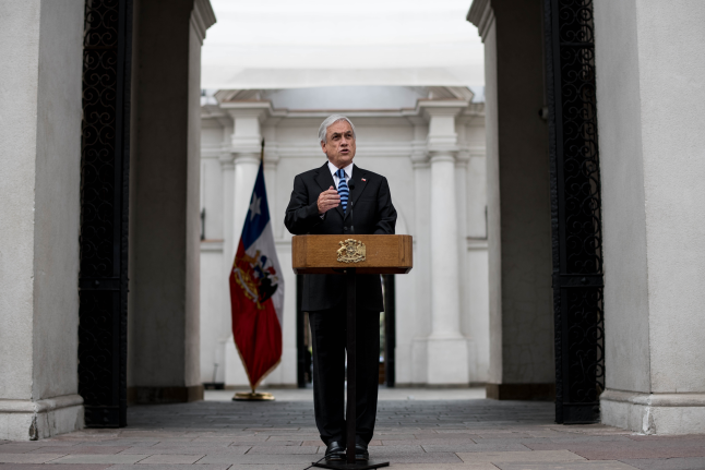 Por tercera vez esta semana: Presidente Piñera defiende decisión sobre pacto migratorio
