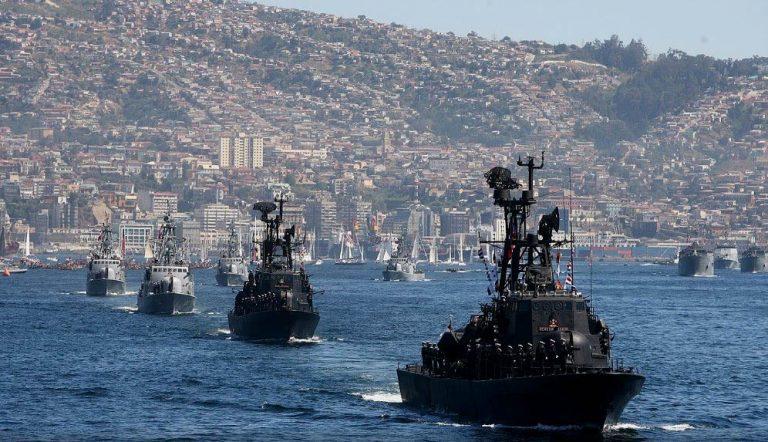 Bicentenario Armada: Presidente Piñera, Princesa Ana y Almirante Leiva encabezarán Revista Naval que cierra celebraciones