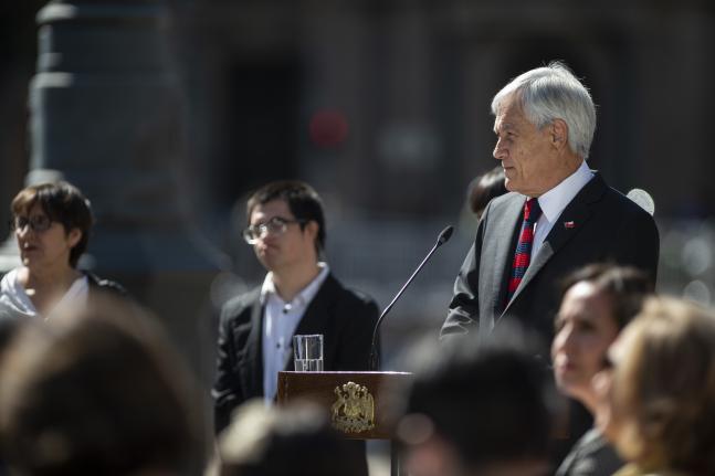 Gobierno cierra las calles y conmemora los 70 años de la declaración universal de los Derechos Humanos