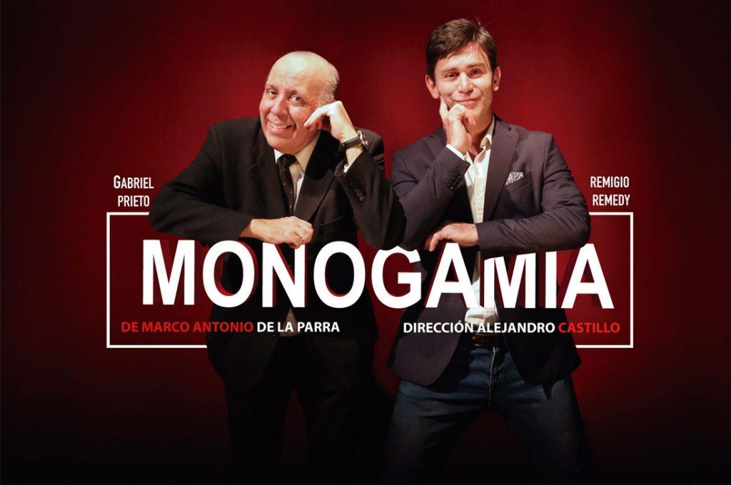 """Exitosa obra de teatro """"Monogamia"""" presentará su última función el sábado 26 de enero"""