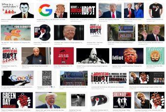 "Google asocia a Donald Trump con la palabra ""Idiota"""