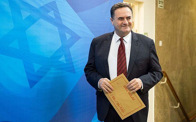 Israel nombre como Canciller a Katz, durísimo político del Likud