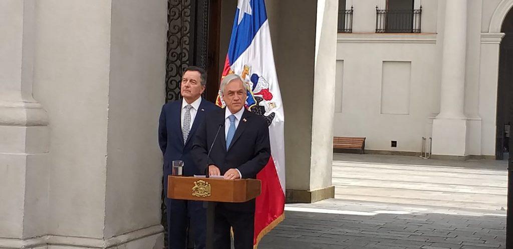 """Piñera explica que viaje a Cúcuta responde a una de las """"tradiciones republicanas más hermosas de Chile"""""""