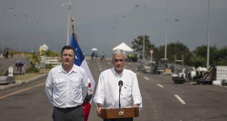 Ampuero sale a defender cuestionado viaje de Piñera a Cúcuta y califica de insensibles a los críticos