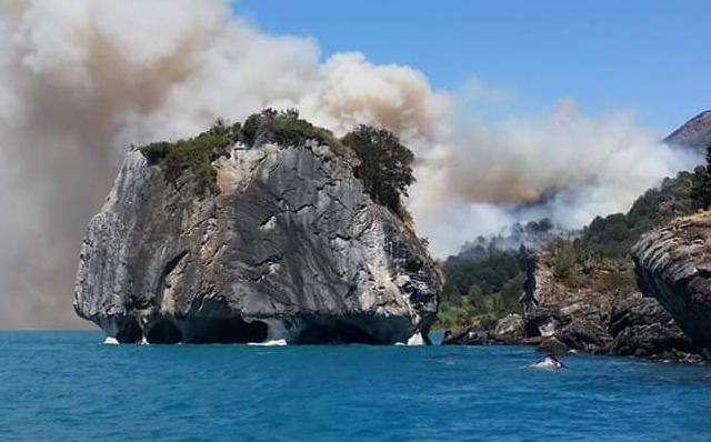Greenpeace advierte que incendios en Aysén demuestran los efectos del cambio climático