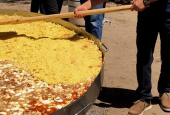 Santa Cruz cocinó el pastel de choclo más grande de Chile