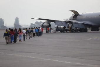Gobierno expulsa a 114 extranjeros entre colombianos, peruanos y bolivianos