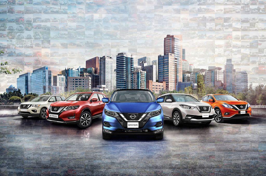 Nissan Chile continúa liderando el segmento de SUVs por segundo año consecutivo