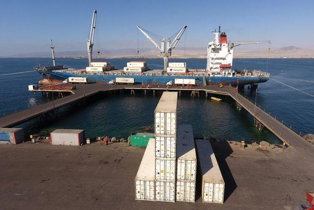 Último embarque de fruta hacia Estados Unidos desde Terminal Puerto Caldera