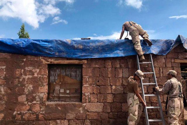 """Ejército despliega a """"Unidad Fundamental de Emergencia"""" (UFE) para afrontar emergencia climática en el norte del país"""