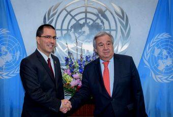 """Secretario General ONU a canciller de Venezuela por crisis organismo mantendrá """"neutralidad, imparcialidad e independencia"""""""