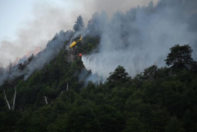 Resumen de incendios forestales: 45 activos, 45 controlados y 2 extinguidos