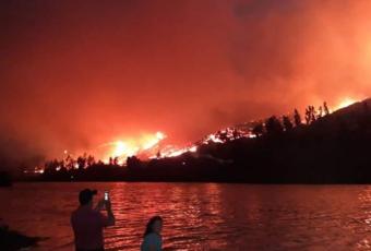 Resumen de incendios forestales: 34 activos, 54 controlados y uno extinguido