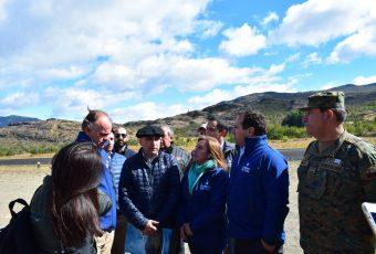"Intendenta de Aysén asegura que incendio de Colonia Sur, en Cochrane, está en ""etapa de contención"""