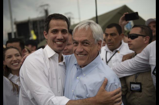 Chile Vamos se cuadra con viaje de Piñera a Cúcuta y rechazan cánticos mofándose de DD.DD