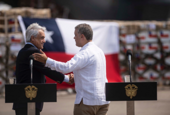 """Piñera llega a Cúcuta para apoyar la """"libertad de la democracia"""" y dispara contra Maduro"""