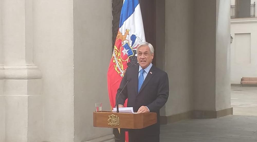 """Piñera vuelve a emplazar a Bachelet por Venezuela: """"Estamos atentos a las decisiones que ella tome"""""""