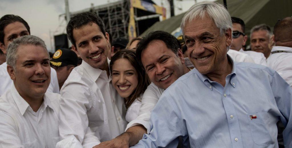 """¡Despertó la Oposición chilena! Critica duramente a Presidente Piñera por viaje a Cúcuta y lo califican de """"fracaso estruendoso"""""""