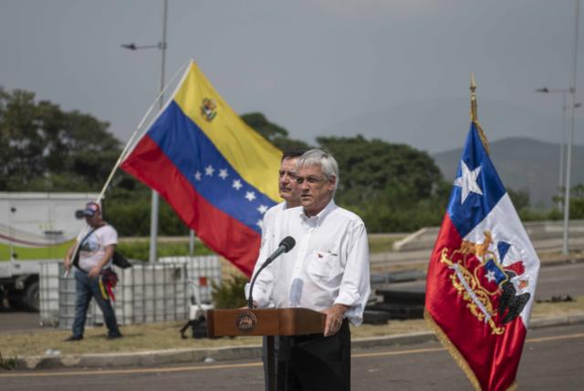 """Venezuela parece que se ha transformado en """"obsesión"""" del Presidente Piñera que habla """"de noble causa el terminar la dictadura"""""""