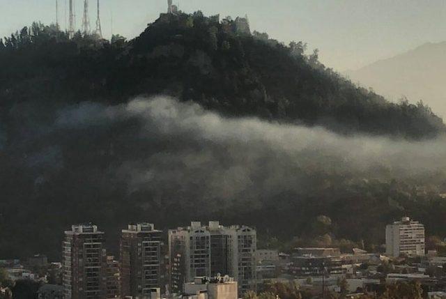 Incendio en Cerro San Cristóbal: Presentan querella y Parque estará cerrado este lunes
