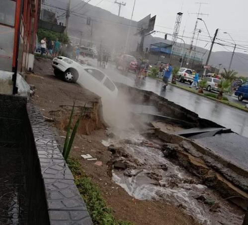 Las lluvias no dan tregua en el norte del país y siguen causando estragos