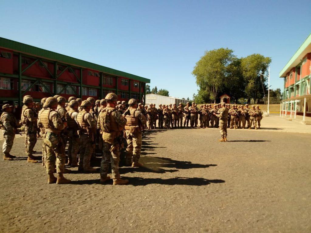 Unidades del Ejército y Armada darán seguridad en zonas afectadas por incendios forestales