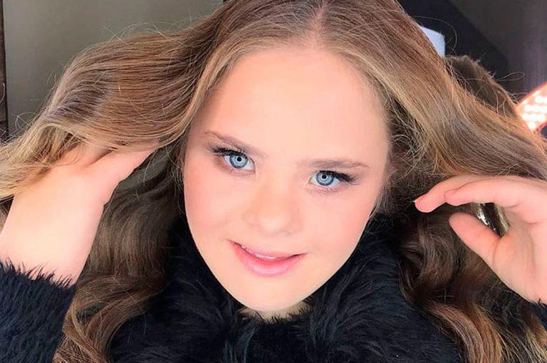 Esta modelo adolescente con síndrome de Down tiene 50 mil seguidores en su Instagram