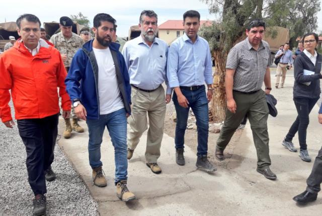 Ubilla descarta declarar zona de catástrofe a Calama y pide a sanitaria agilizar solución al agua potable