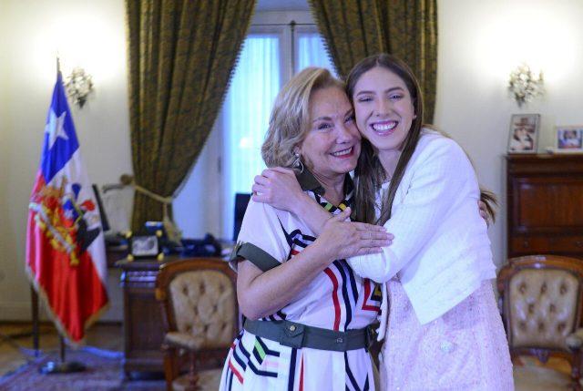 Cecilia Morel recibe a esposa de Juan Guaidó y reitera que en Venezuela hay una dictadura