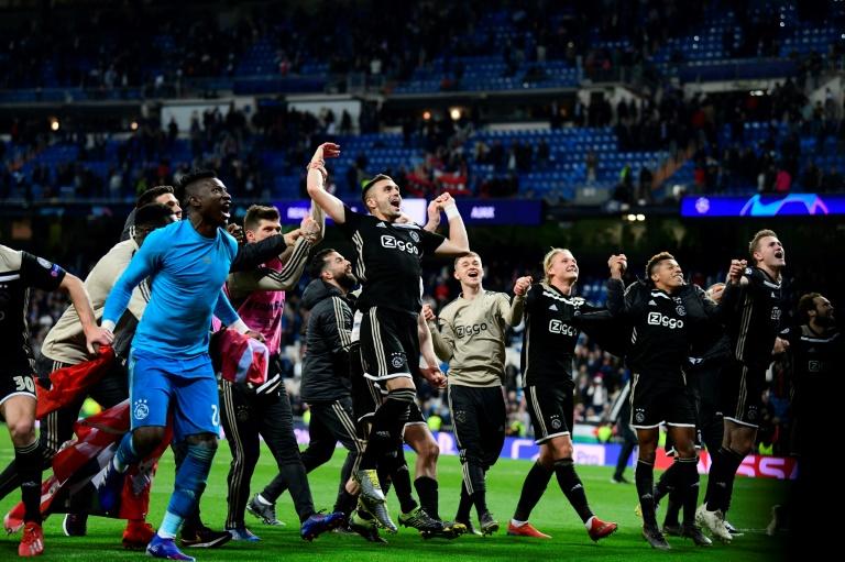 El Ajax de Holanda barre el piso con el Real Madrid por 4 a 1