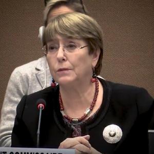 Michelle Bachelet, ex Presidenta de Chile al comentar supuesto aporte de OAS a su campaña