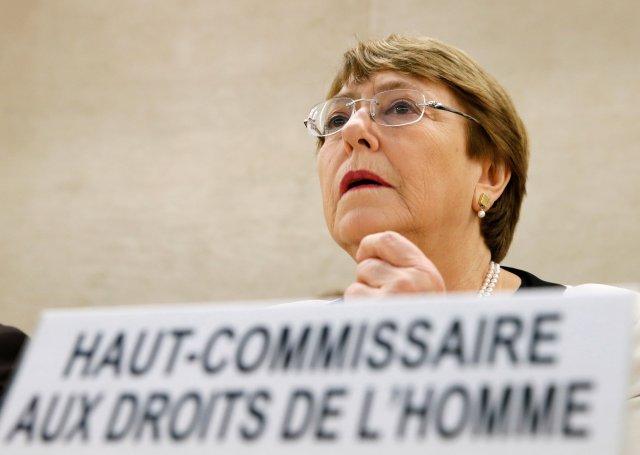 """Bachelet reconoce violaciones a los derechos humanos con """"torturas y muertes"""" en Venezuela"""