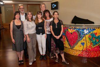 Teatro Nescafé de las Artes estrena gran mosaico por su décimo aniversario