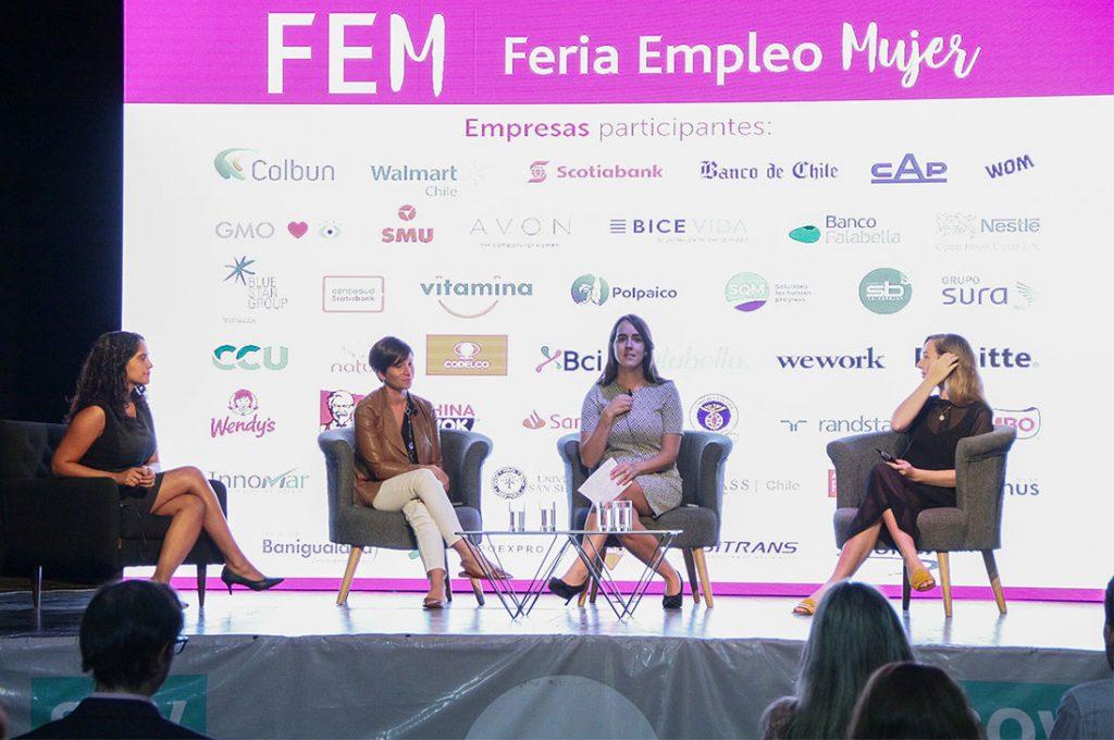 Primera feria virtual para mujeres ofrecerá más de 12 mil puestos de trabajo en todo Chile