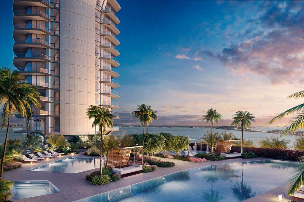 UNA, un condominio de lujo en la 'Park Avenue' de Miami