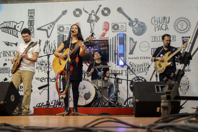 """Banda INCHE estrena su primer trabajo musical """"Sonidos de la tierra"""""""