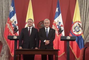 """Piñera y Duque reiteran críticas a la """"dictadura"""" de Maduro y exigen la liberación inmediata de asesor de Guaidó"""