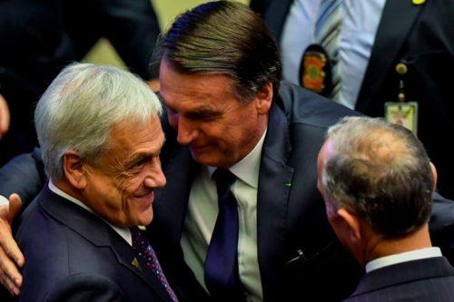 Piñera en problemas: Presidentes del Senado y la Cámara NO asistirán a almuerzo en honor de Presidente de Brasil