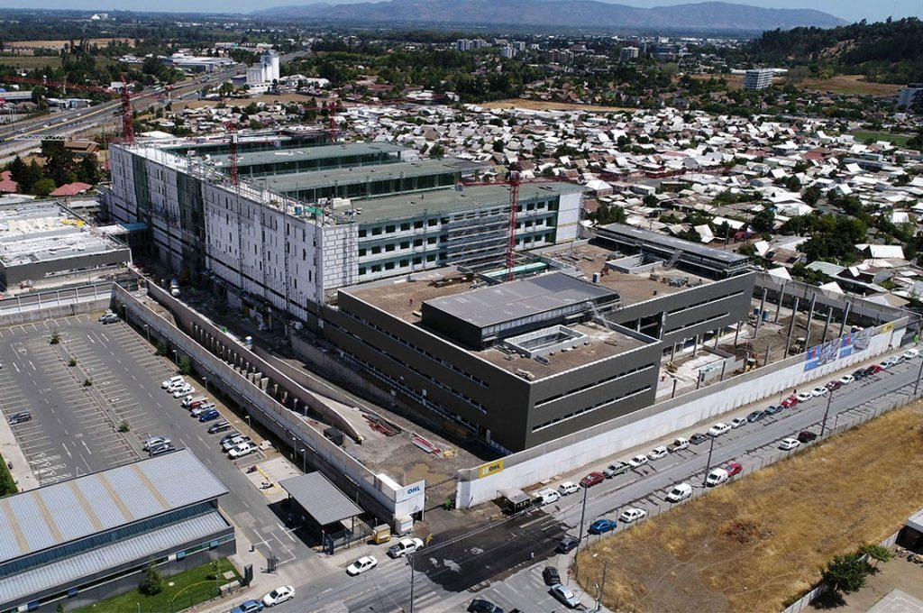 Hospital de Curicó completa un 40% de avance de obras