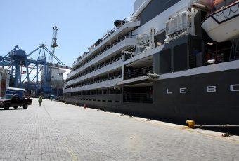 TPS recibió su primer crucero de este año