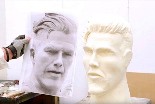 Estatua de David Beckham sacó risas en conocido programa de televisión