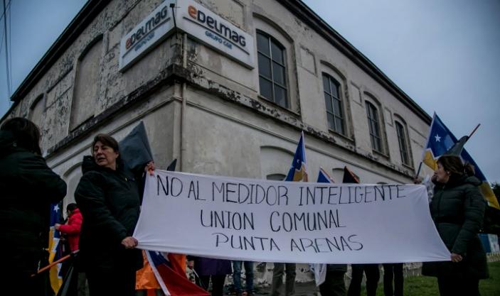 """En la ciudad más austral del mundo protestan contra los """"medidores inteligentes"""""""